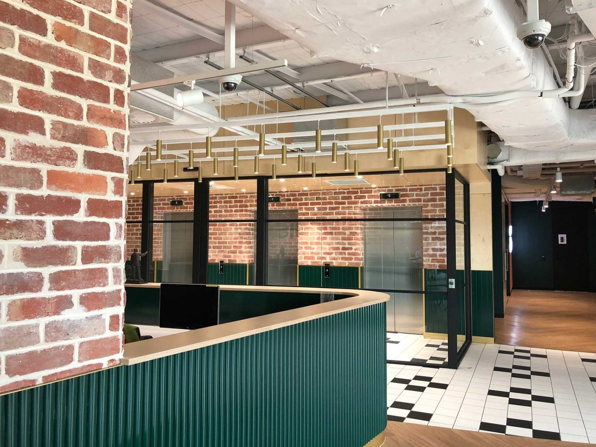Alpha Project Management has helped with an office fitout in the Melbourne suburb of Cremorne