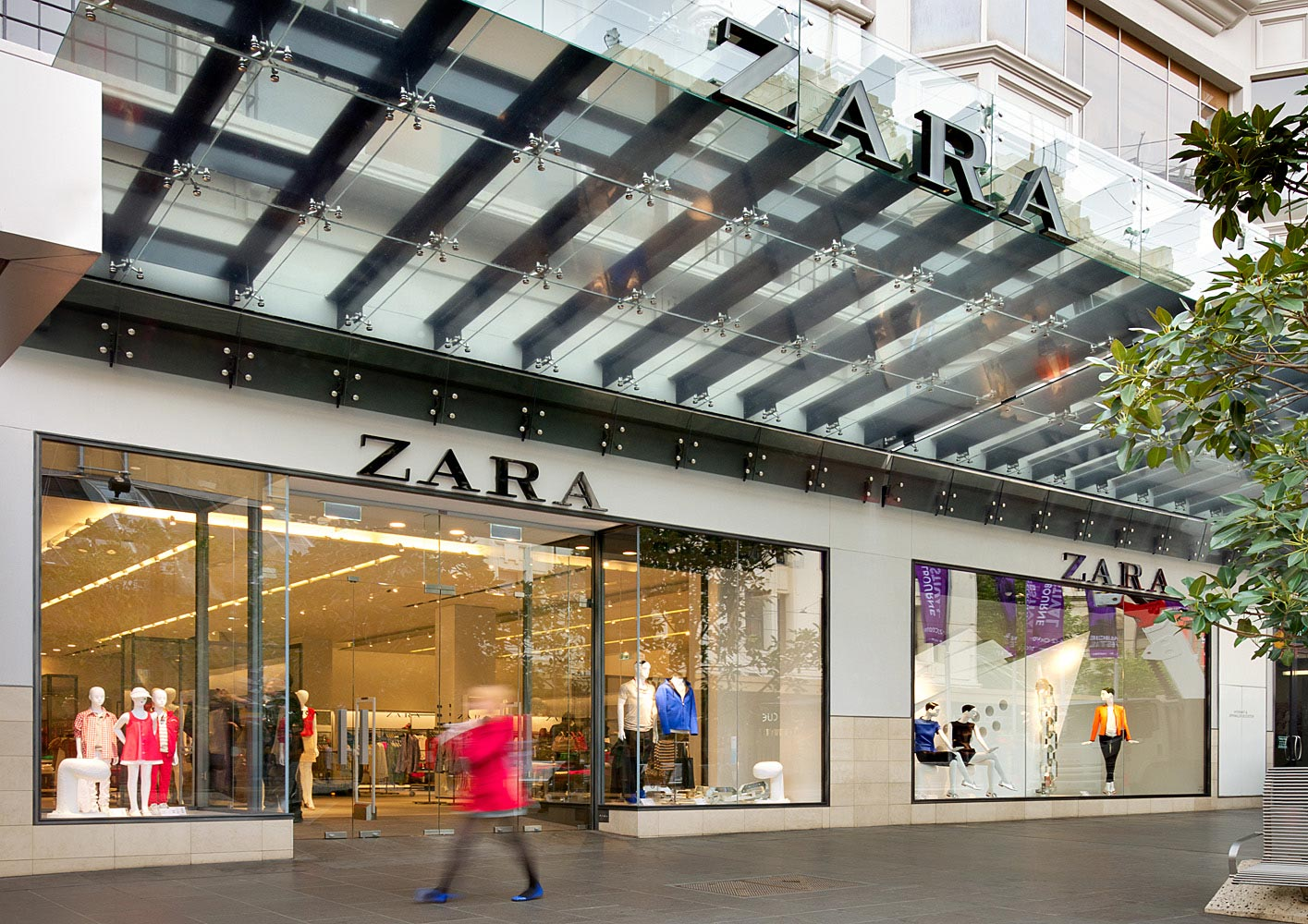 Alpha Project Management has helped the Zara's Melbourne store